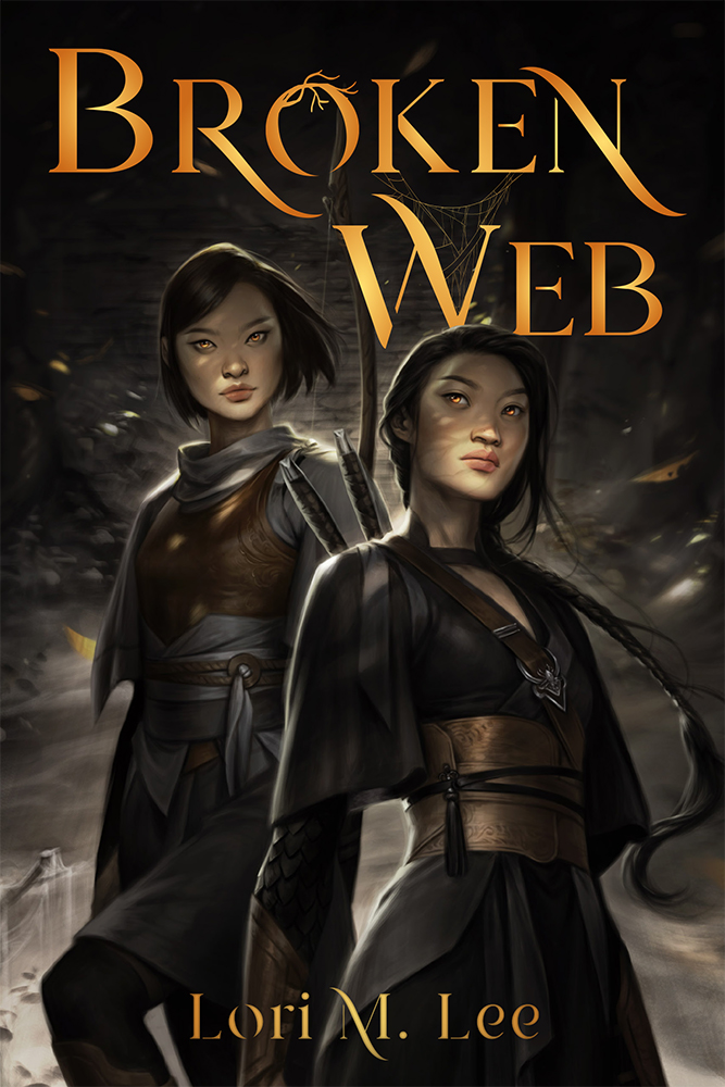 Broken Web (Shamanborn, #2) by Lori M. Lee
