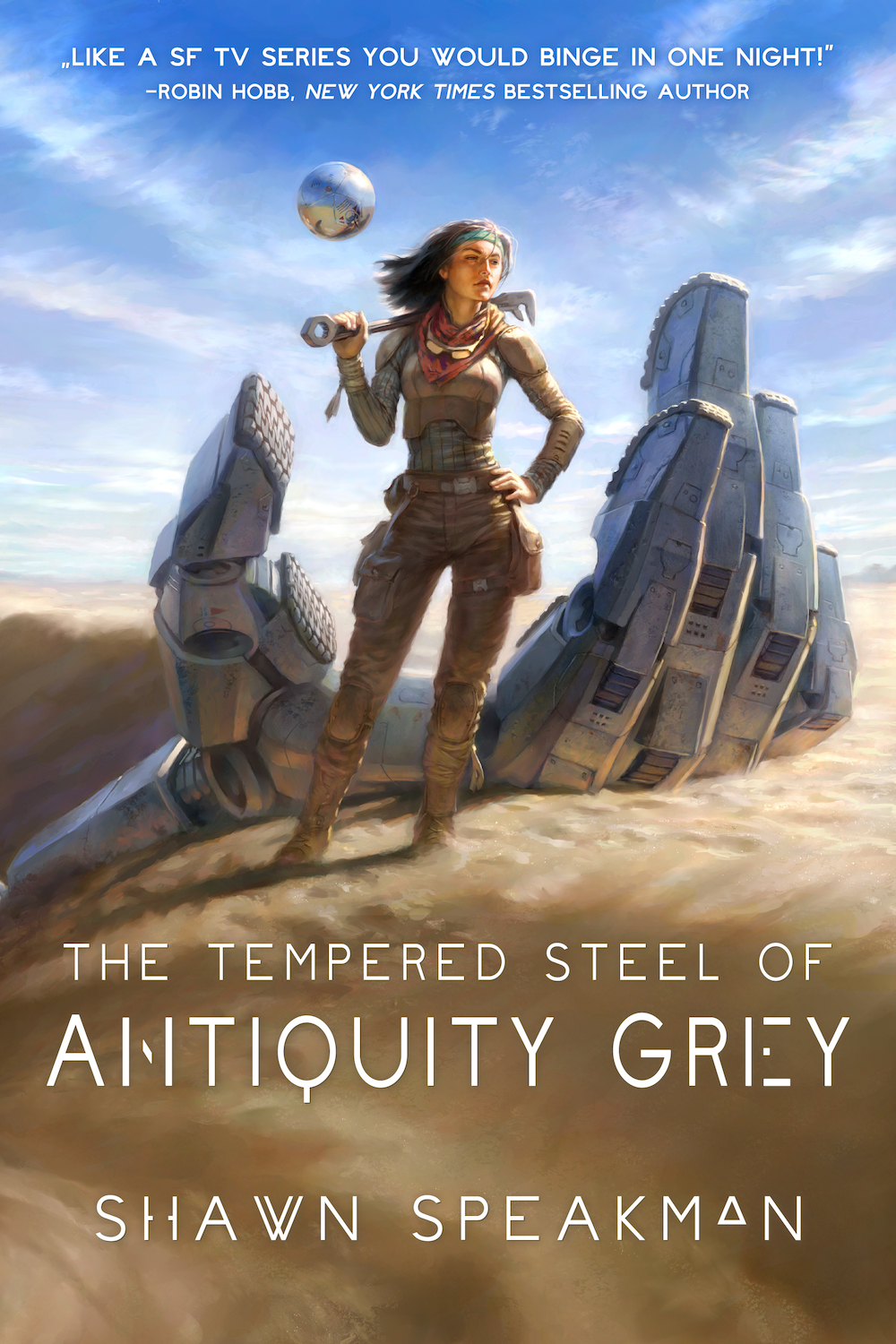 The Tempered Steel of Antiquity Grey by Shawn Speakman