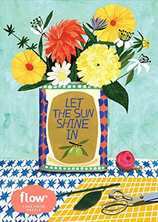 Let the Sun Shine In 1,000-Piece Puzzle by Irene Smit