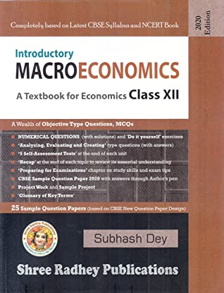 A Textbook of Introductory Macroeconomics for Class 12 (Examination 2020-2021)