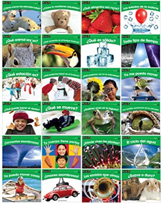 Rising Readers Science Single-Copy Set Volumes 1 and 2 (1 copy of 24 titles) SPANISH