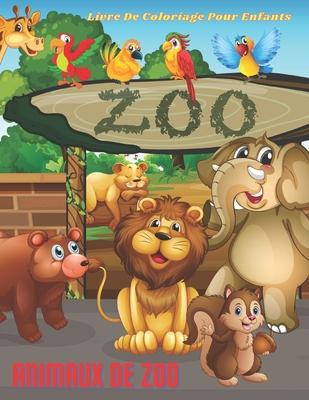 Animaux De Zoo Livre De Coloriage Pour Enfants By Macha Audcoeur