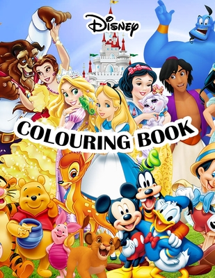 Disney Colouring Book By Disney Publisher Uk