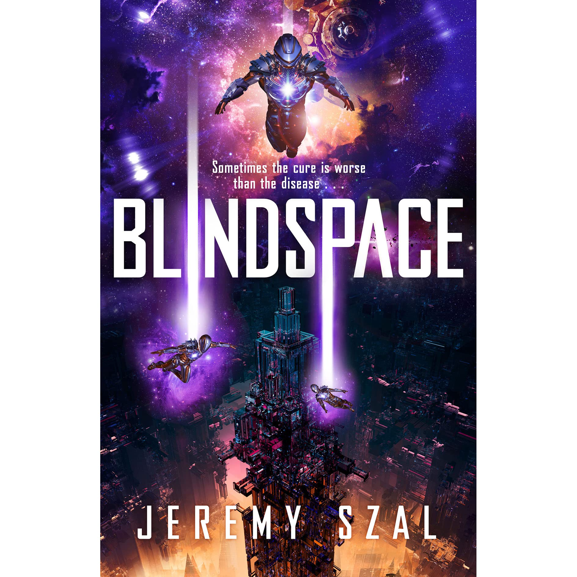 Blindspace (The Common, #2) by Jeremy Szal