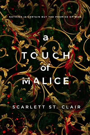 A Touch of Malice (Hades & Persephone, #3) by Scarlett St. Clair