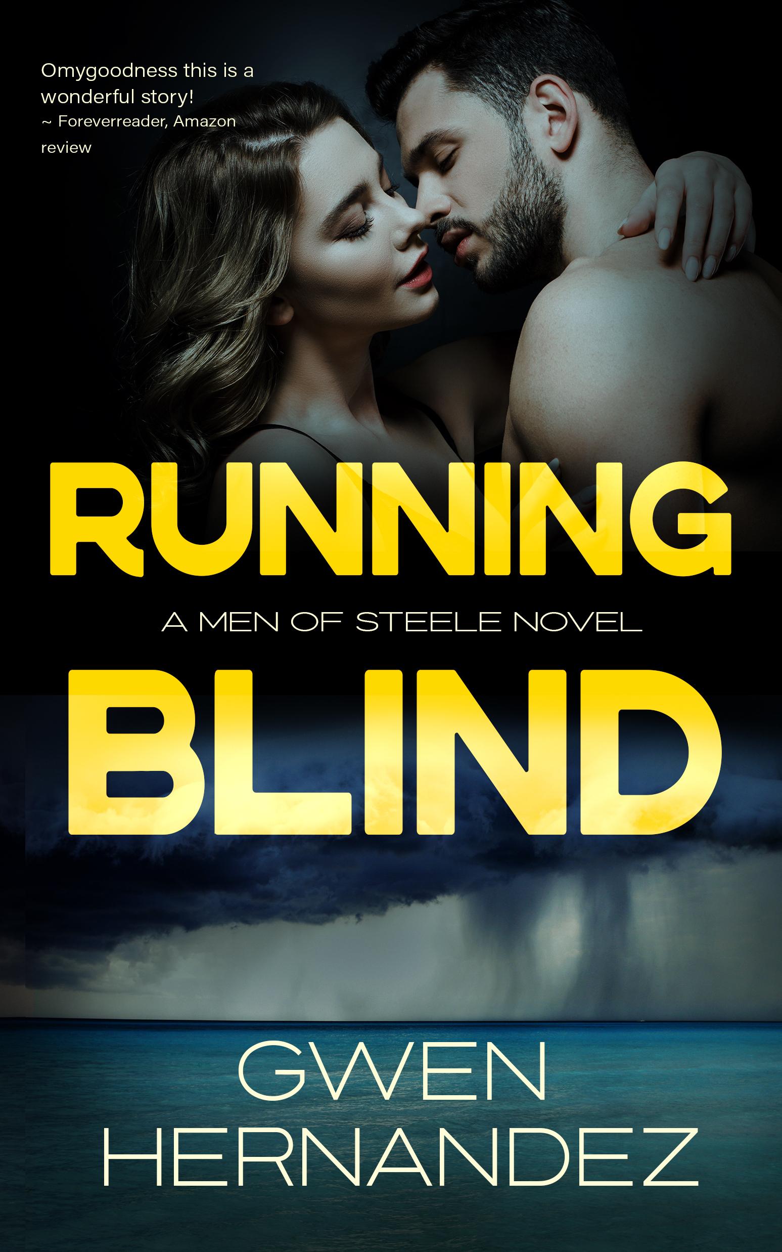Running Blind (Men of Steele, #4) Gwen Hernandez