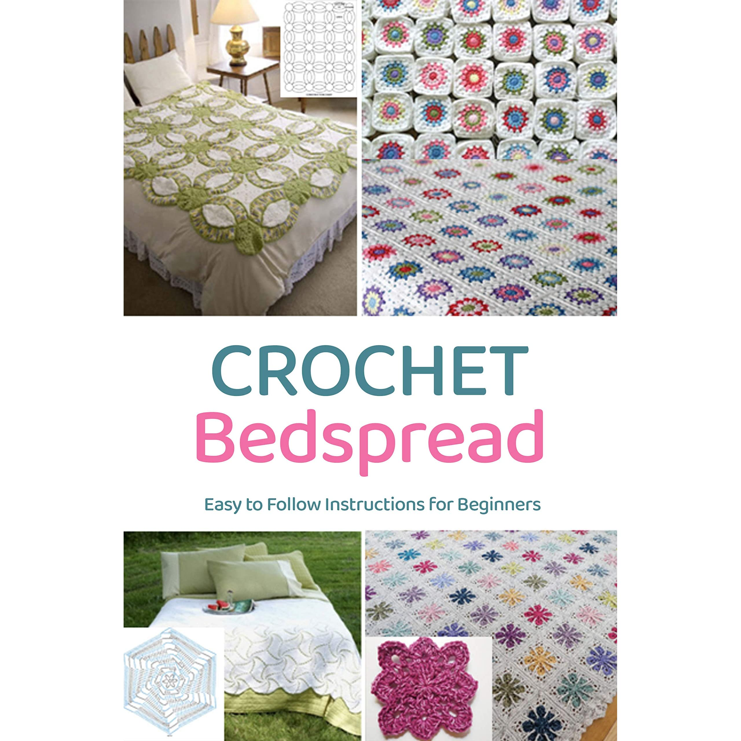 Crochet Bedspread Easy To Follow Instructions For Beginners Gift For Holiday By Jeremy Lockhart