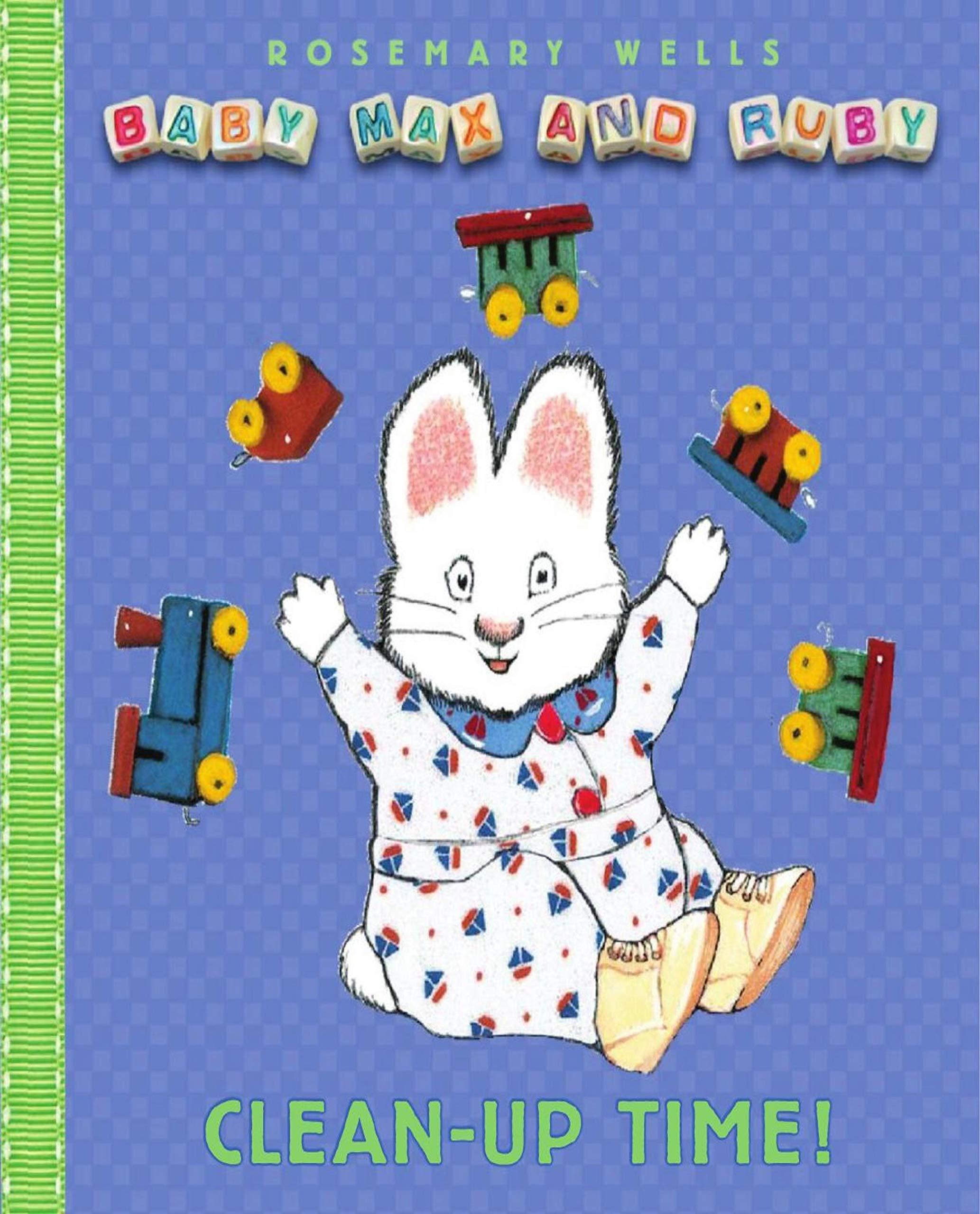 baby max and ruby: kids bookshelf Wayne Armstrong