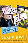 For All She Knows (Potomac Point, #3)