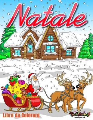 Disegni Di Natale Da Colorare Per Adulti.Natale Libro Da Colorare Libro Da Colorare Per Adulti Con 25 Bellissimi Disegni Relativi Al Periodo Natalizio By Art Bookoloring