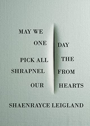 May We One Day Pick All the Shrapnel From Our Hearts