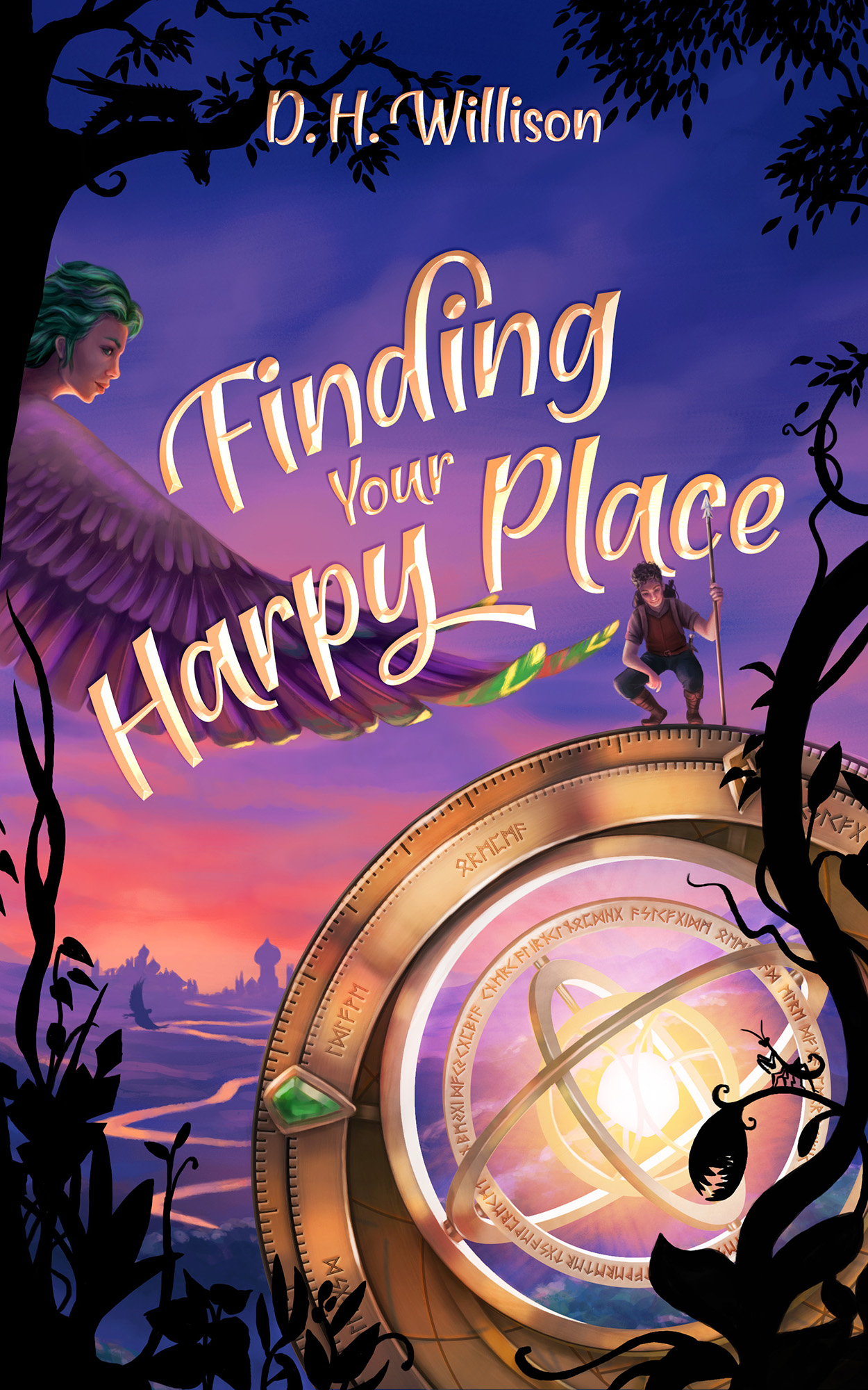 Finding Your Harpy Place (Tales of Arvia 2) by D.H. Willison