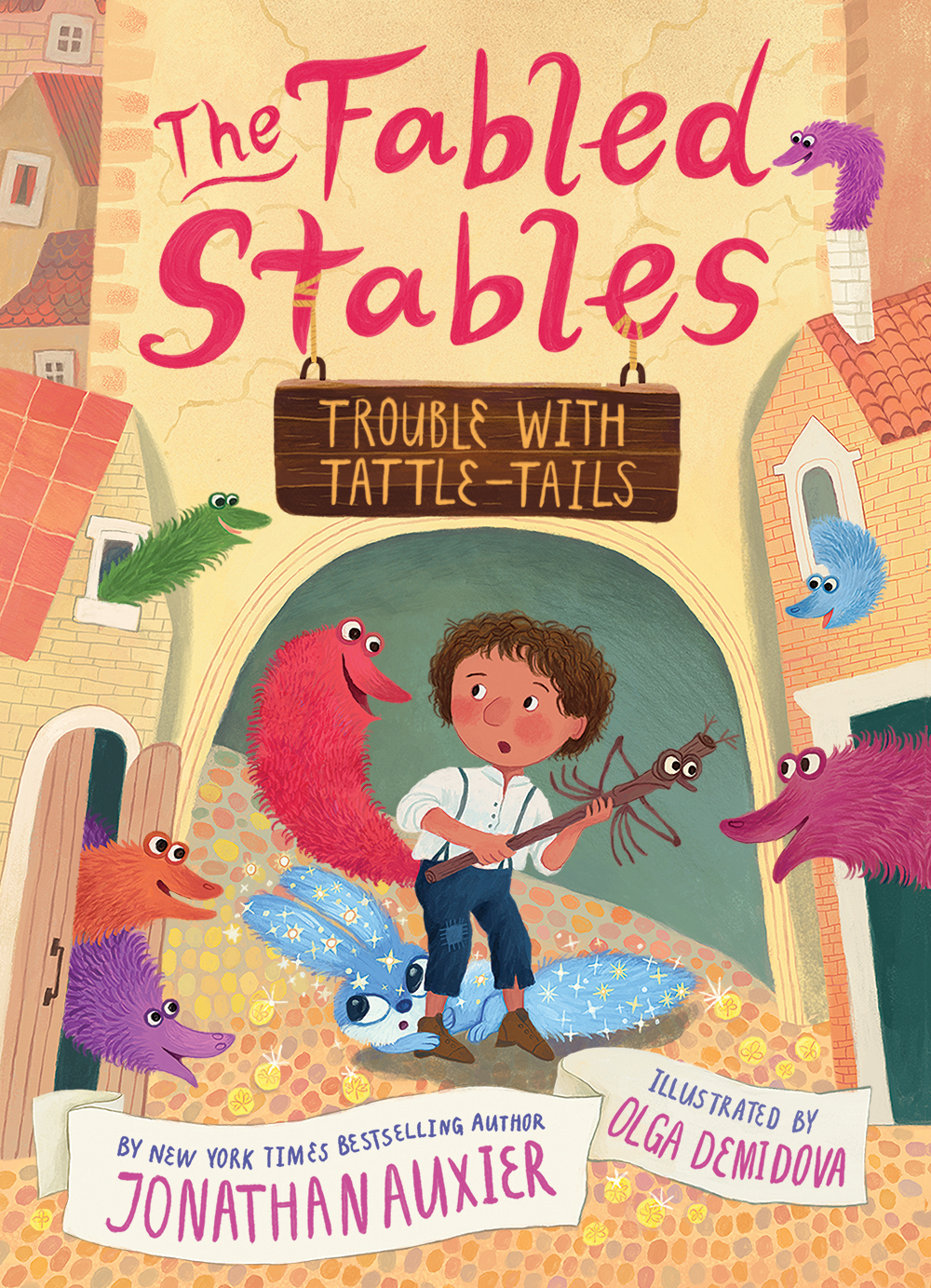Trouble with Tattle-Tails (The Fabled Stables, #2)