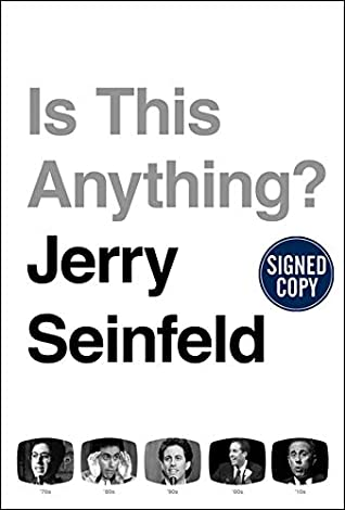 Jerry Seinfeld - Is This Anything? Signed First Edition First Printing Autographed Copy