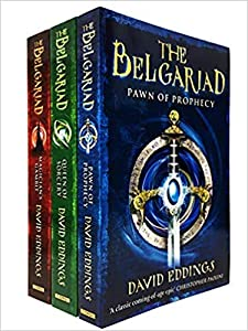 The Belgariad 3 Books Collection Set by David Eddings