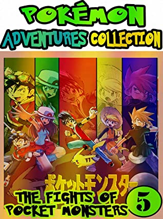 Pocket Adventure: Collection Pack 5 - Pokemon Graphic Novel Pocket Monsters Manga Adventures For Children