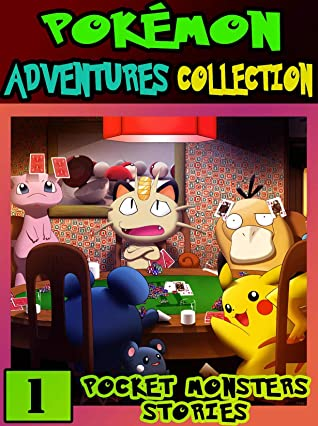 Pocket Adventure: Collection Pack 1 - Pokemon Manga Adventures Pocket Monsters Graphic Novel For Children
