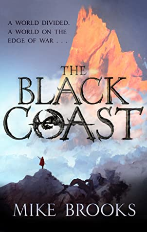 Cover for The Black Coast by Mike Brooks
