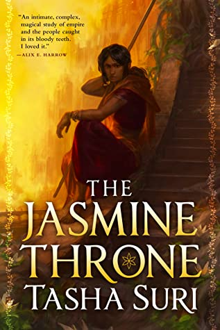 The Jasmin Throne book cover