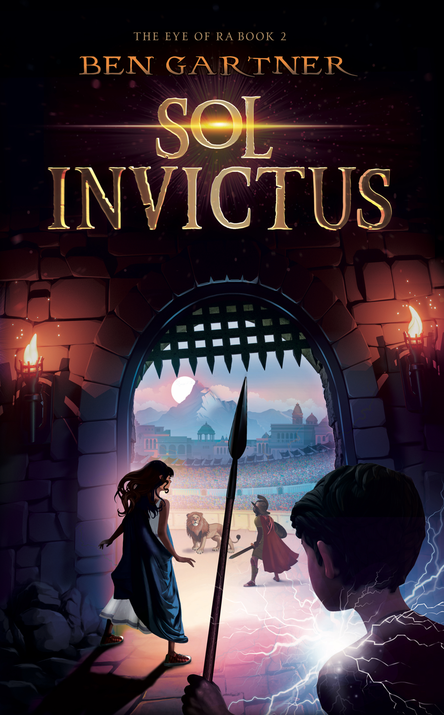 Sol Invictus (The Eye of Ra, #2)