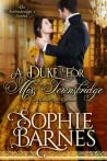 A Duke for Miss Townsbridge (The Townsbridges, #4)