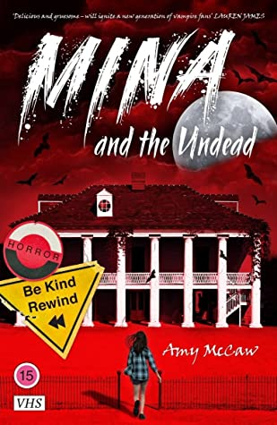 Book cover for Mina and the Undead