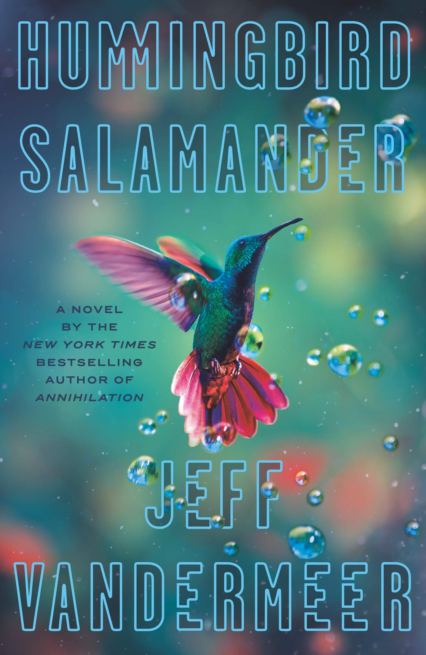 Picture of the cover of Hummingbird Salamander by Jeff Vandermeer
