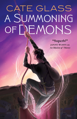 Jacket cover for A Summoning of Demons by Cate Glass