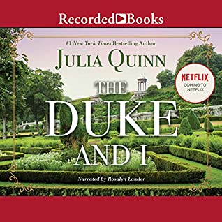 Audiobook cover for The Duke and I