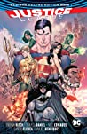 Justice League: Rebirth Deluxe Edition Book 1