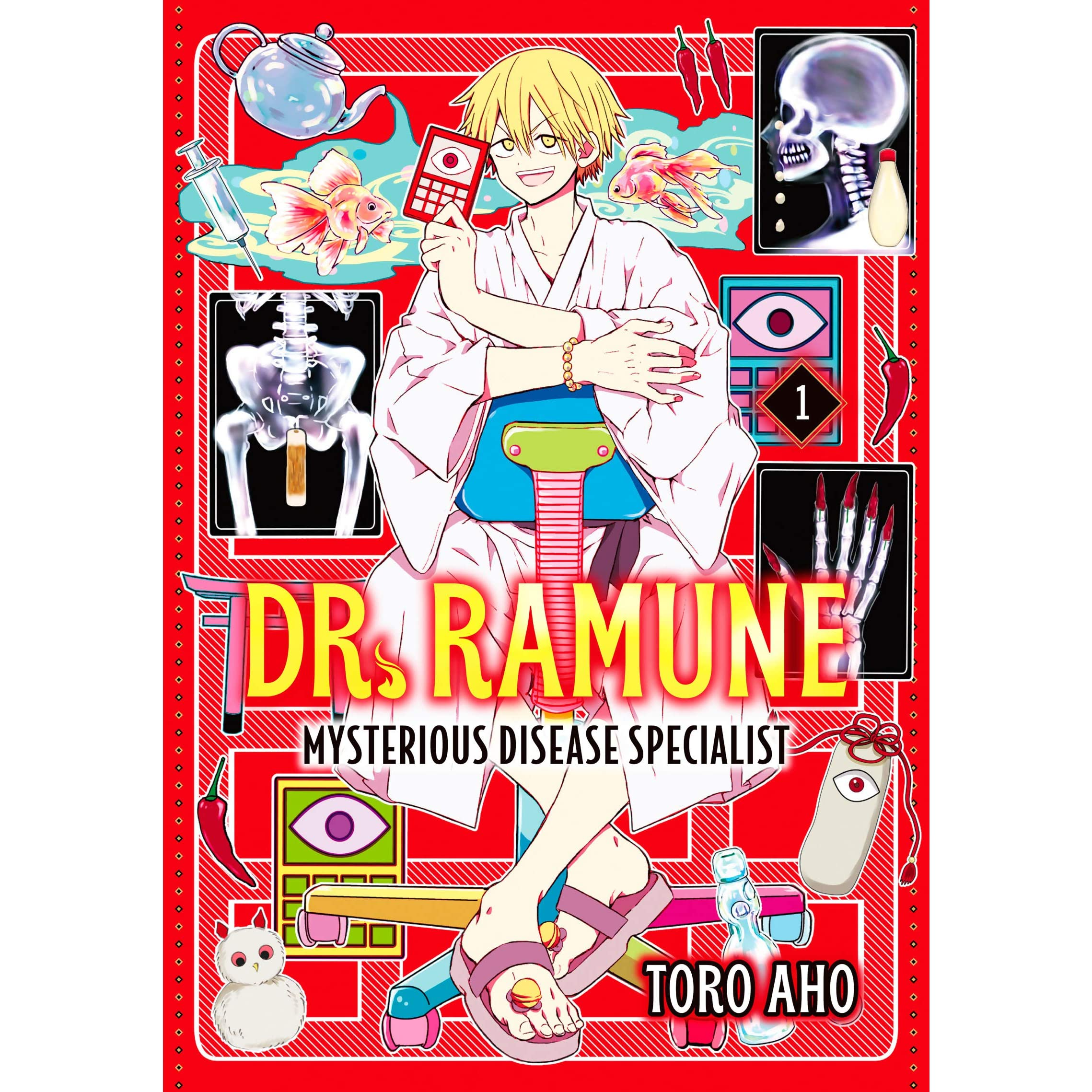 Dr Ramune Mysterious Disease Specialist Vol 1 By Toro Aho