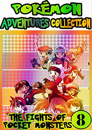 Pocket Adventure: Collection Pack 8 - Pocket Monsters Manga Adventures Pokemon Graphic Novel For Kids, Children
