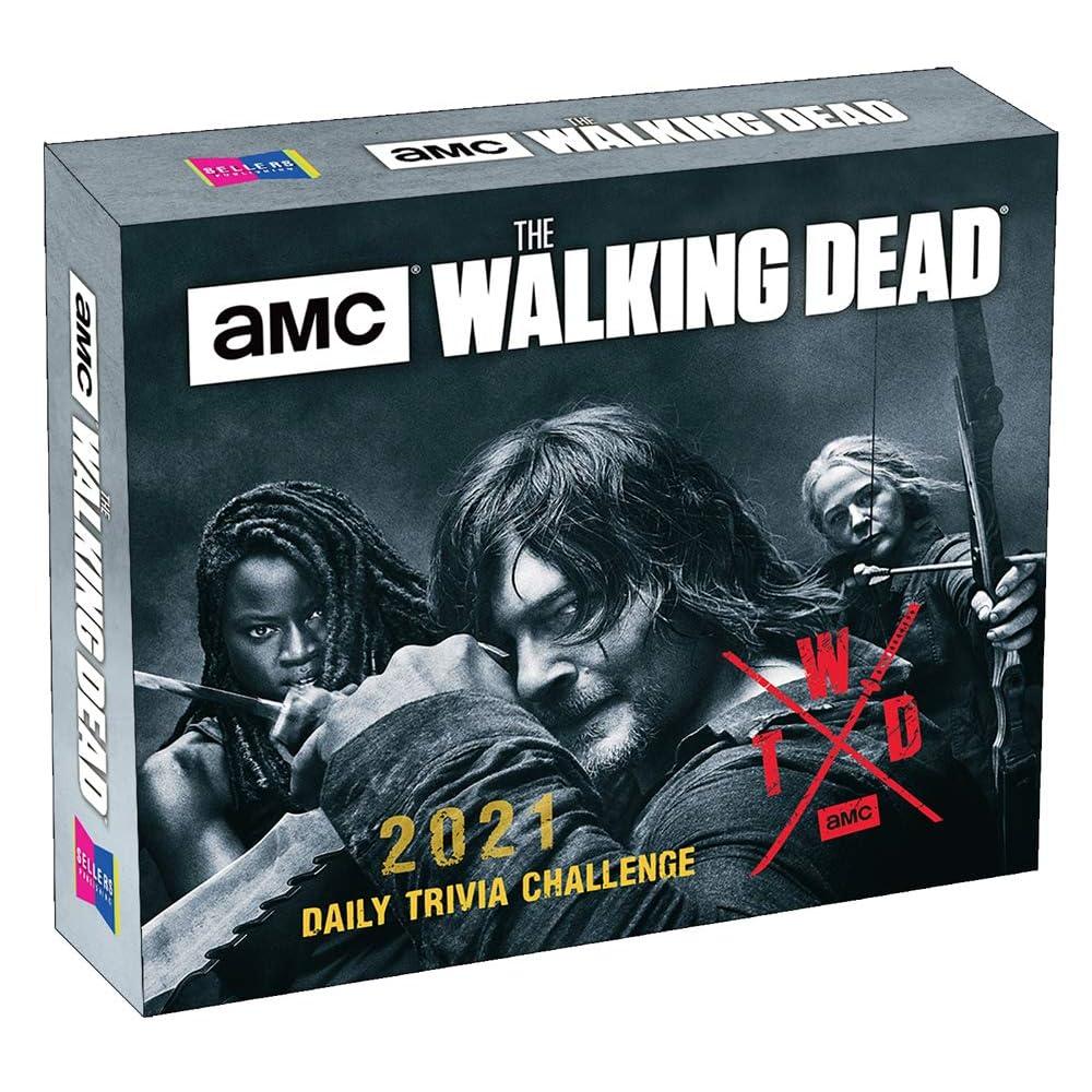 Walking Dead 2022 Calendar.2021 Amc The Walking Dead R Daily Trivia Challenge Boxed Daily Calendar By Amc