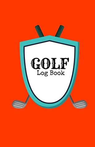 """Golf Log Book: Red Golfing Notebook   100 Tracking Sheets, Yardage Pages   Track Your Game Stats, Scorecard Template   Golfers Gifts   Small 5.5"""" x 8.5"""""""