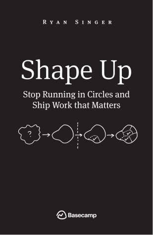 Cover for Shape Up: Stop Running in Circles and Ship Work that Matters, by Ryan Singer