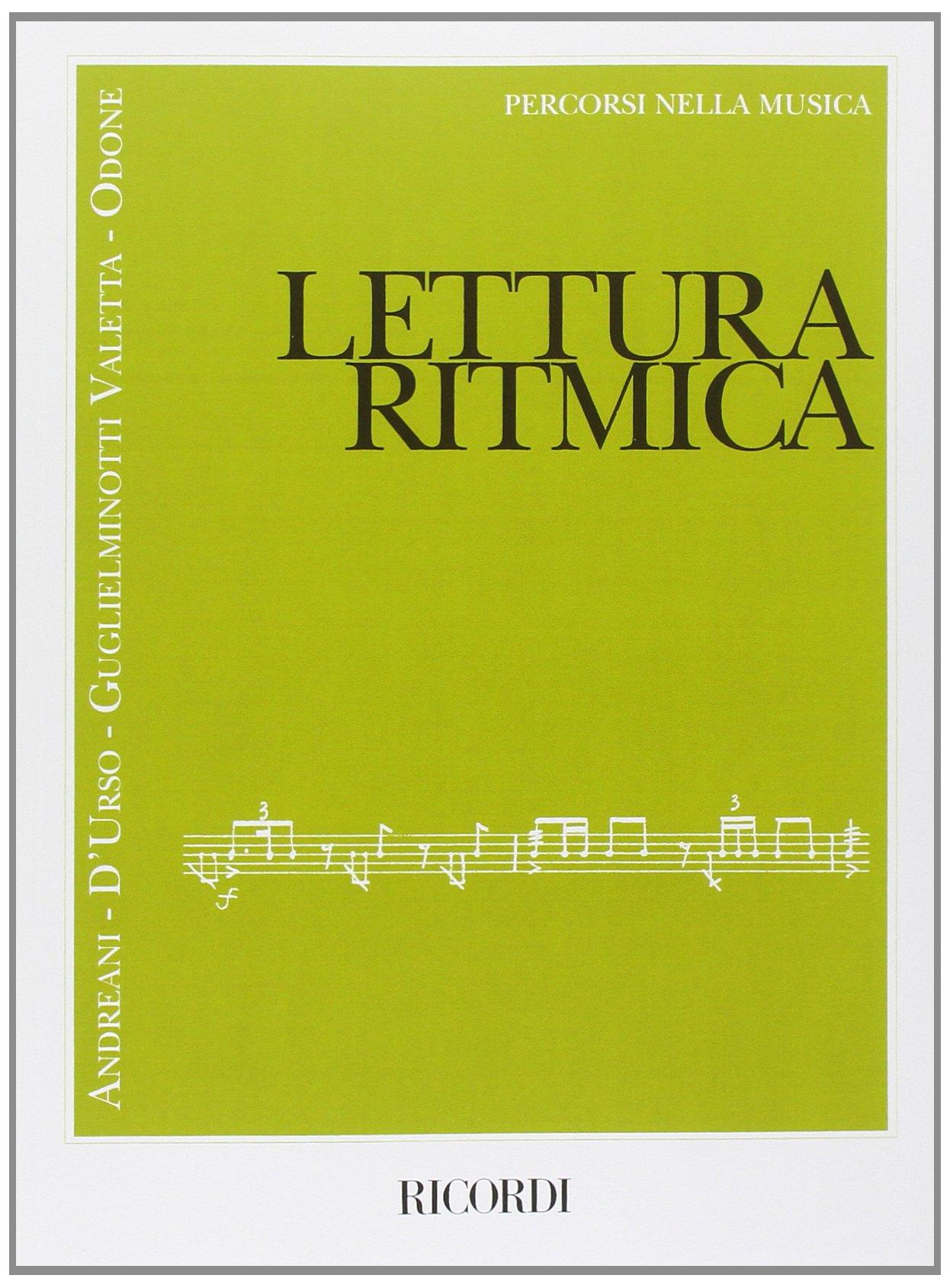 Lettura Ritmica Andreani, D;Urso, Guglielminotti, Odone