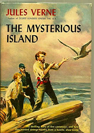 The Mysterious Island:: Annotated (Science Fiction, Historical, Adventure Fiction, Scientific romance)