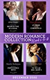 Modern Romance December 2020 Books 5-8: The Innocent Behind the Scandal (The Marchetti Dynasty) / An Heir Claimed by Christmas / The Queen's Impossible Boss / Stolen to Wear His Crown