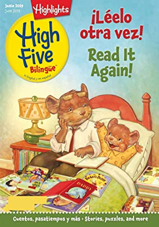 Highlights High Five Bilingue June 2019: Picture books for children growing up