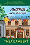 Murder Turns the Page (Rooftop Garden Cozy Mysteries Book 8)
