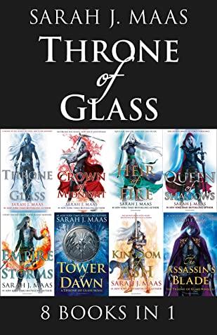 Throne of Glass eBook Bundle: An 8 Book Bundle