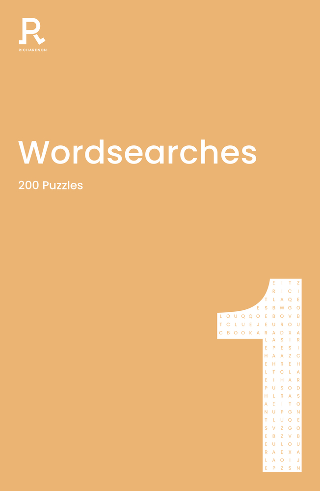 Wordsearches Book 1: a word search book for adults containing 200 puzzles