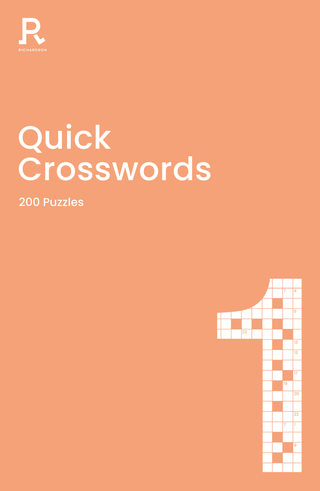 Quick Crosswords Book 1: a crossword book for adults containing 200 puzzles