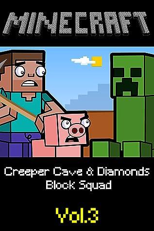 Creeper Cave & Diamonds | Block Squad: Minecraft funny story comics