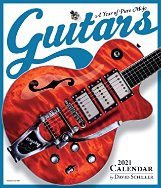 Guitars Wall Calendar 2021 by David Schiller