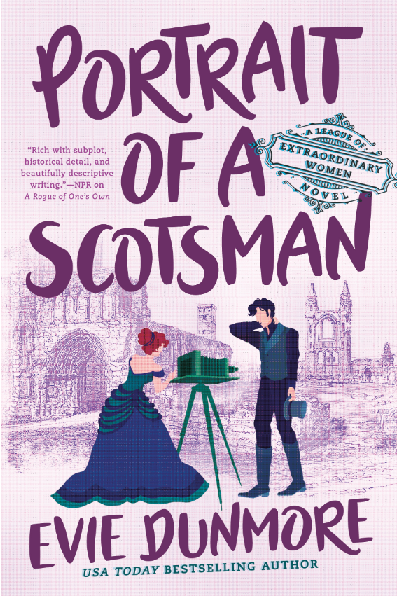 Portrait of a Scotsman (A League of Extraordinary Women, #3)