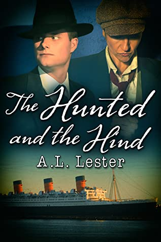 book cover showing 2 men in 1920s clothing and a steamship