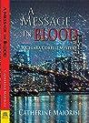 A Message in Blood (Chiara Corelli Mystery, #3)