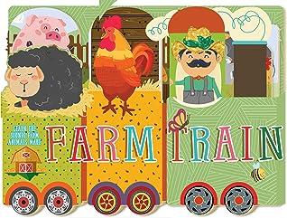 Farm Train by Susanna  Covelli