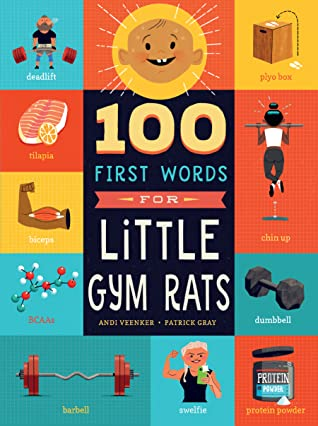 100 First Words for Little Gym Rats by Andrea Veenker